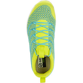 Scarpa Gecko Air Flip Shoes Women spring green/ceramic